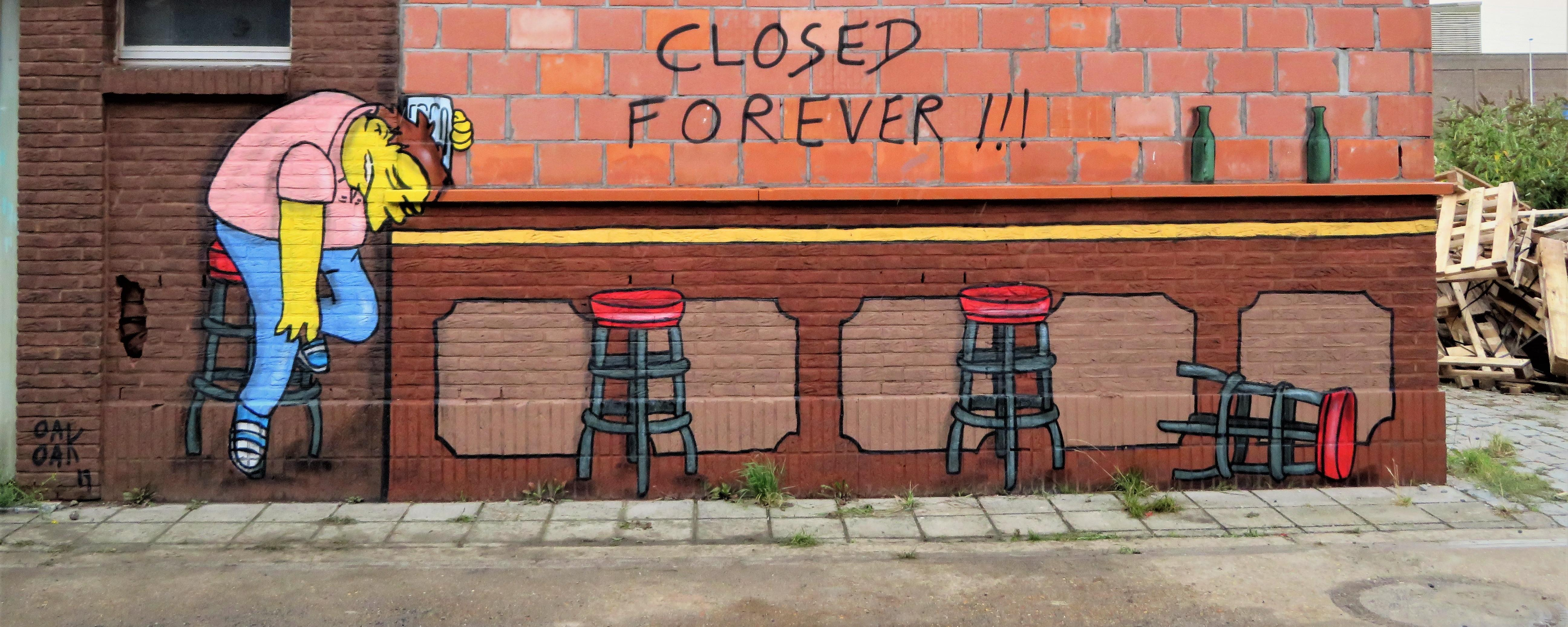 Closed Forever !!! ©Ferdinand Feys